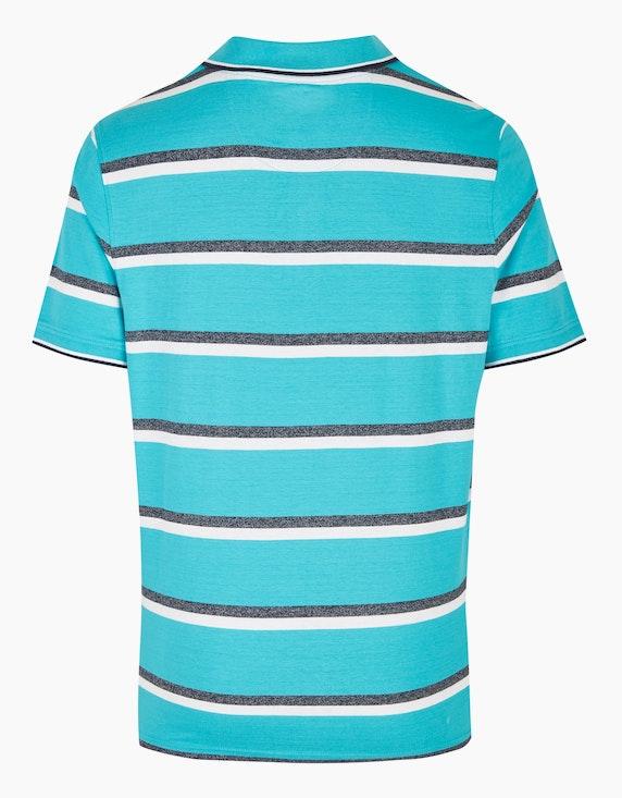 Bexleys man Poloshirt im Streifen-Look | ADLER Mode Onlineshop