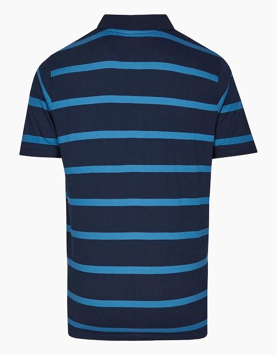Bexleys man Gestreiftes Poloshirt mit Brusttasche in Pima Cotton | ADLER Mode Onlineshop