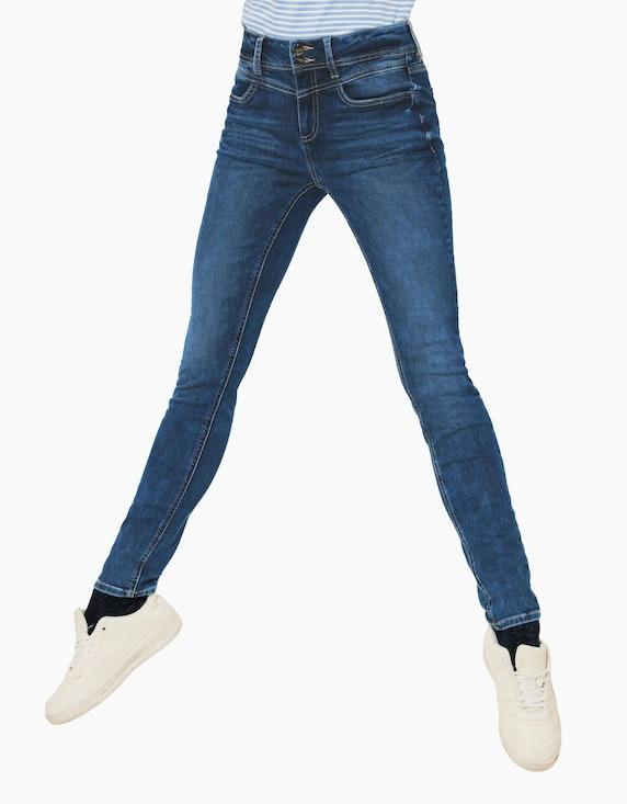 Street One Denim-Jeanshose, High Waist, Style York | ADLER Mode Onlineshop