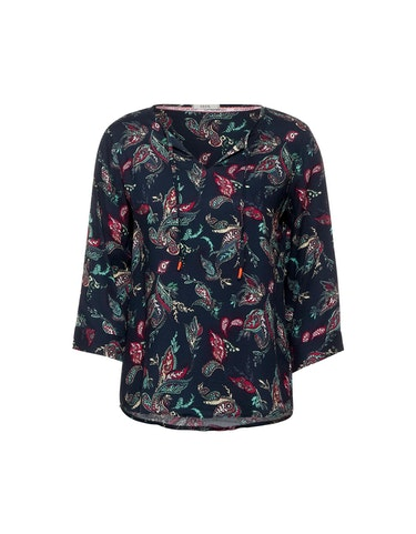Produktbild zu Bluse mit Paisley-Muster im Tunika-Style von CECIL
