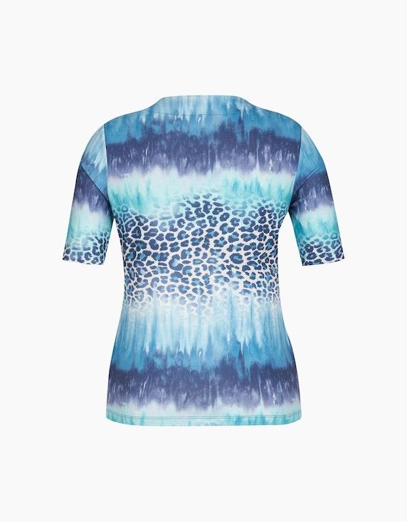 Malva T-Shirt im Mustermix mit halblangen Ärmeln | ADLER Mode Onlineshop