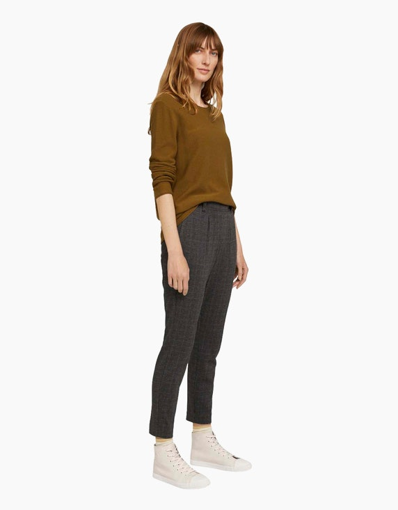 Tom Tailor Basic-Pullover mit feiner Struktur | ADLER Mode Onlineshop