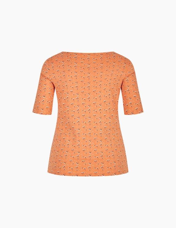 Bexleys woman T-Shirt mit Blumenmuster und halblangen Ärmeln | ADLER Mode Onlineshop