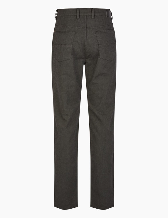 Bexleys man Gemusterte 5-Pocket Hose in Wolloptik | ADLER Mode Onlineshop