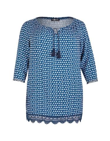 Produktbild zu Tunika-Bluse mit Spitzendetails von No Secret