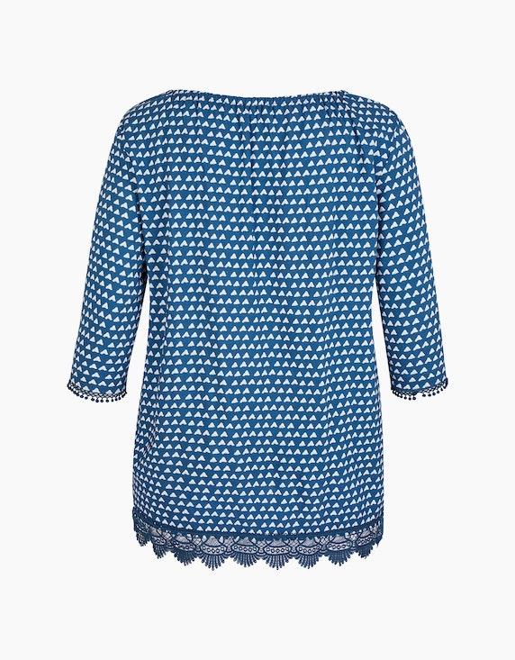 No Secret Tunika-Bluse mit Spitzendetails | ADLER Mode Onlineshop