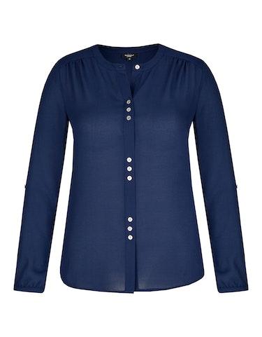 Produktbild zu Unifarbene Bluse von Bexleys woman