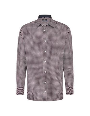 Produktbild zu <strong>Freizeithemd mit Allover-Punkteprint</strong>REGULAR FIT von Bexleys man
