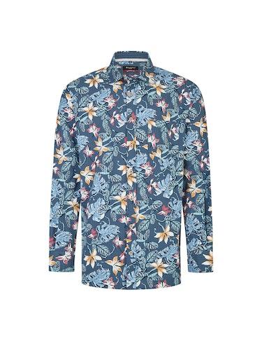 Produktbild zu <strong>Seersucker Hemd mit modischem Blumenprint</strong>MODERN FIT von Bexleys man
