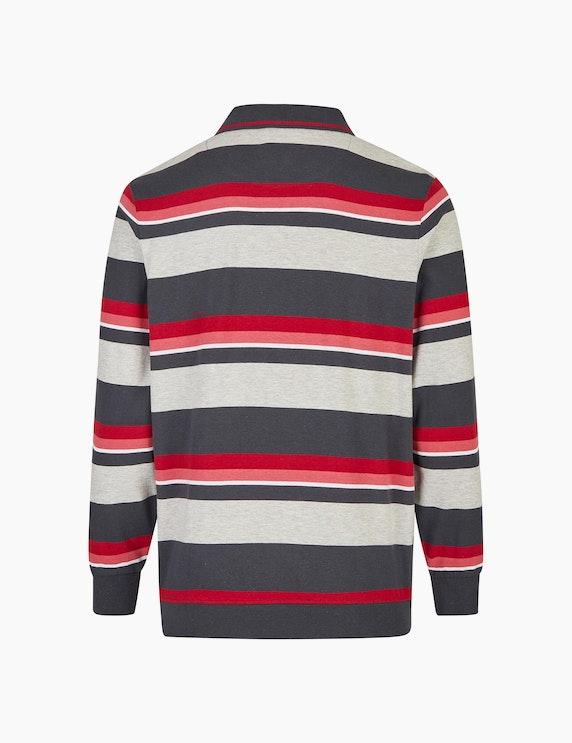 Bexleys man Modisch gestreiftes Sweatshirt | ADLER Mode Onlineshop