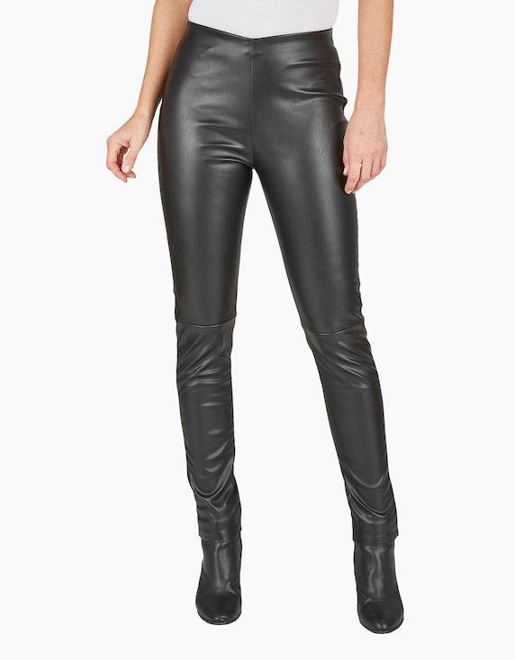 Bexleys woman Leggings in Leder-Optik | ADLER Mode Onlineshop