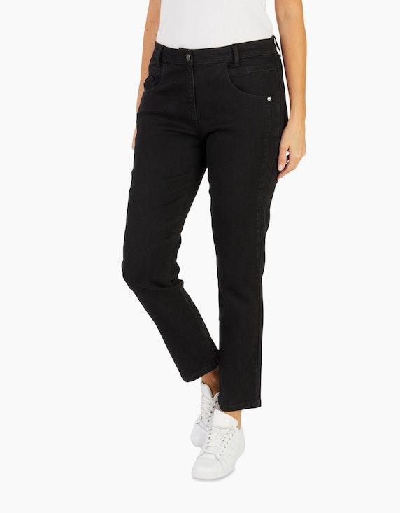 Bexleys woman Figurschmeichelnde Jeans mit vorverlegter Seitennaht | ADLER Mode Onlineshop
