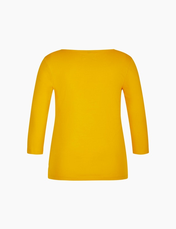 Bexleys woman Basic Shirt mit 3/4-Arm | ADLER Mode Onlineshop