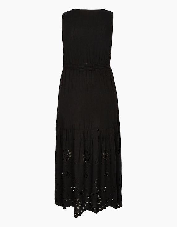 MY OWN Ärmelloses Kleid mit Lochstickerei   ADLER Mode Onlineshop