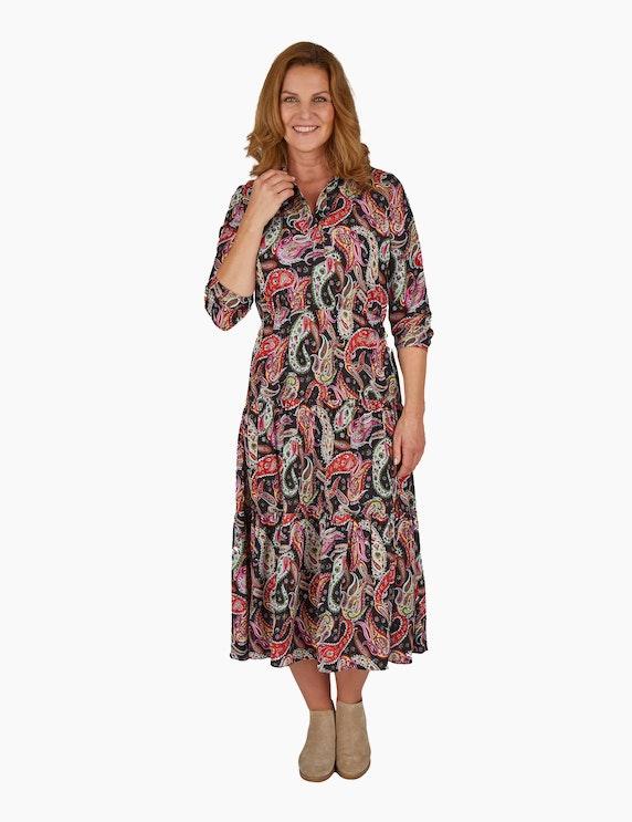 Steilmann Woman Stufenkleid mit Paisley-Muster | ADLER Mode Onlineshop