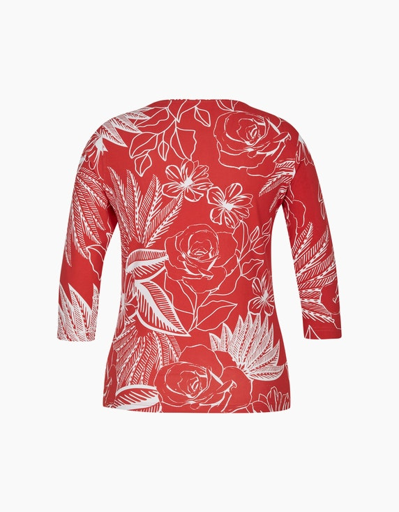 Malva Shirt mit Rosen-Print | ADLER Mode Onlineshop