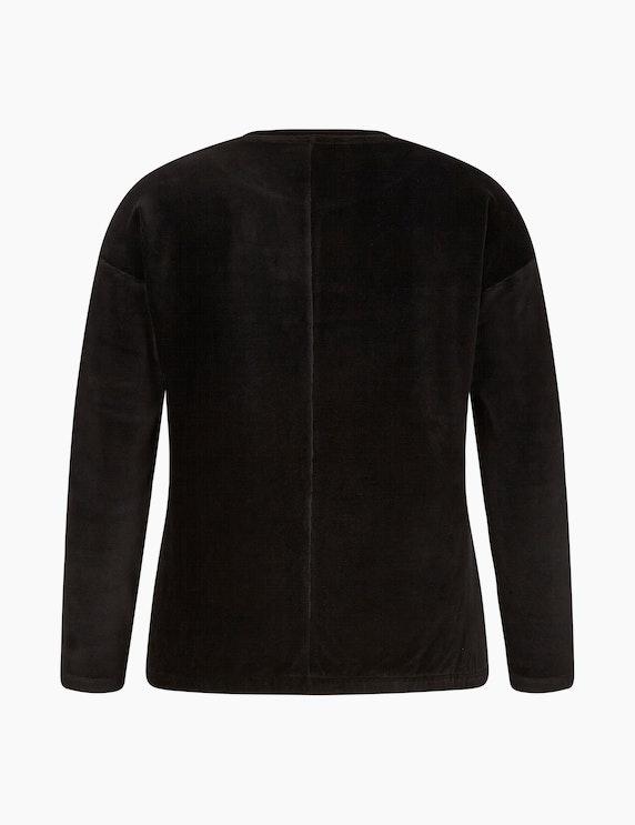 CHOiCE Langarmshirt in Cord-Optik | ADLER Mode Onlineshop