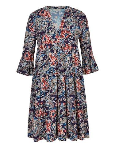 Produktbild zu Stufenkleid mit Paisley-Muster von CHOiCE