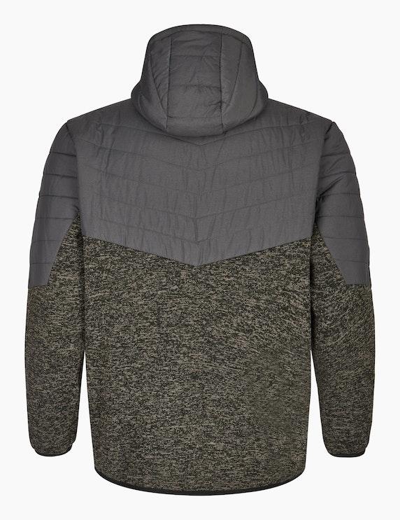 Big Fashion Fleecejacke mit Steppung | ADLER Mode Onlineshop