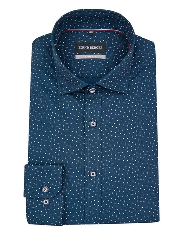 Produktbild zu <strong>Fein gepunktetes Dresshemd</strong>SLIM FIT von Bernd Berger