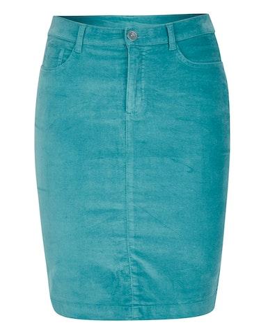 Produktbild zu Samtrock in 5-Pocket-Form von Bexleys woman