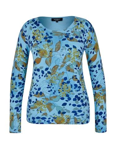 Produktbild zu Strickpullover im floralen Design von Bexleys woman