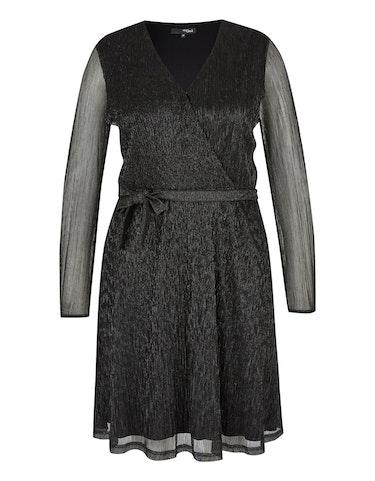 Produktbild zu Festliches Chiffon-Kleid mit Wickeloptik von MY OWN
