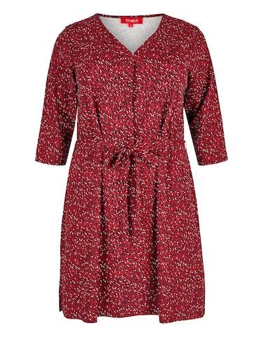 Produktbild zu Jersey-Kleid mit floralem Druck von Thea
