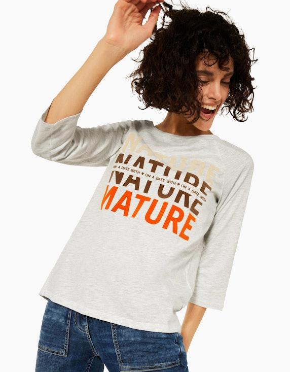 CECIL Raglan Shirt mit Fotoprint   ADLER Mode Onlineshop
