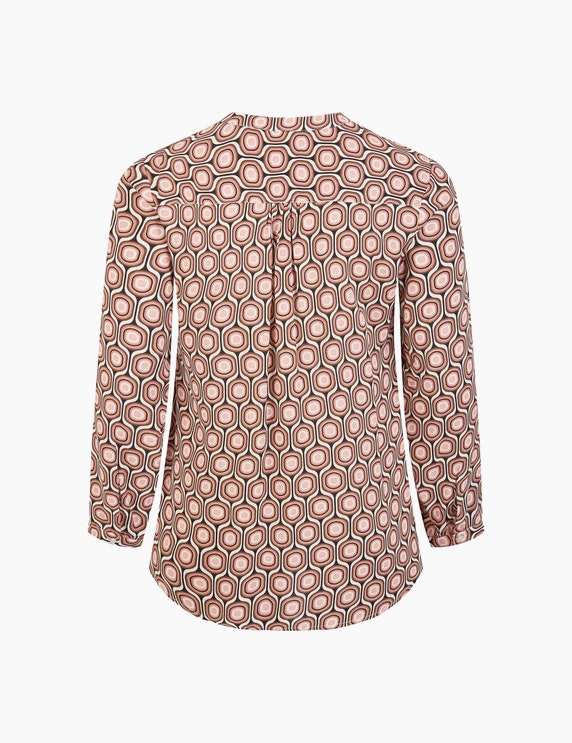 VIA APPIA DUE Bluse mit grafischem Allover-Print | ADLER Mode Onlineshop
