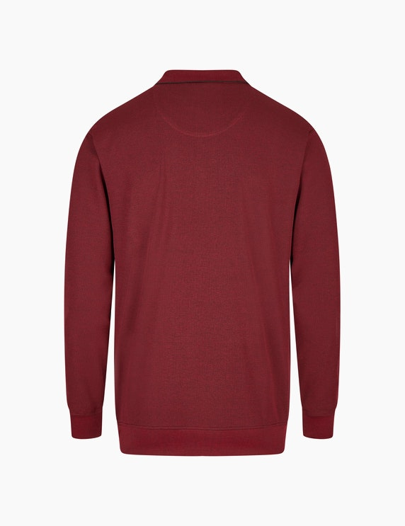 Bexleys man Langarm-Poloshirt in Twotone Jacquard-Struktur   ADLER Mode Onlineshop