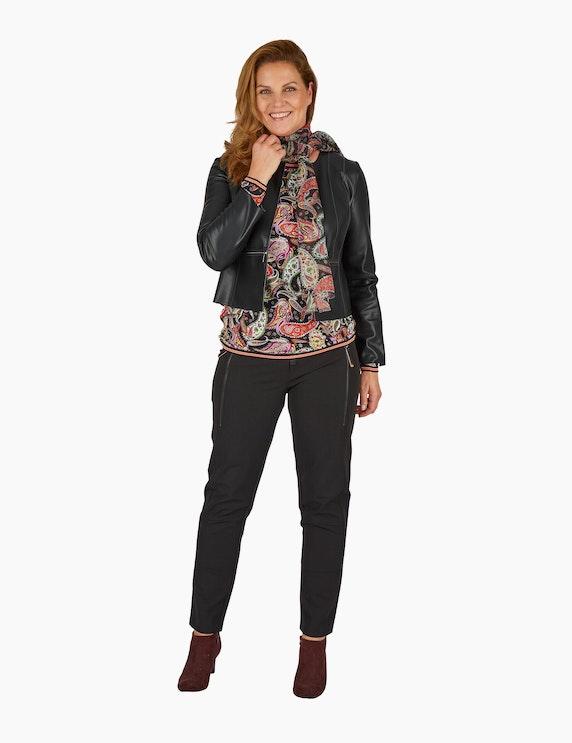 Steilmann Woman Paisley-Schal mit Fransen   ADLER Mode Onlineshop