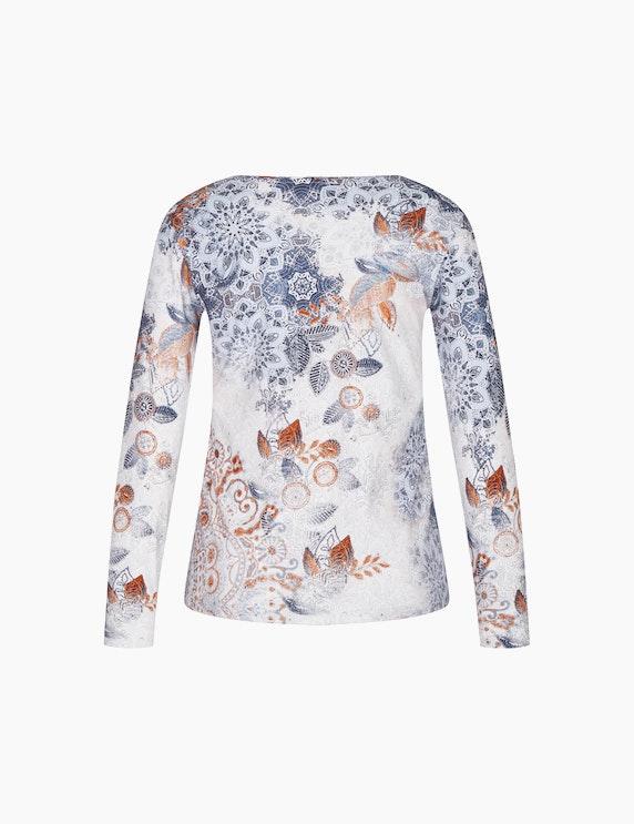 Bexleys woman Langarmshirt mit Blumenmuster | ADLER Mode Onlineshop
