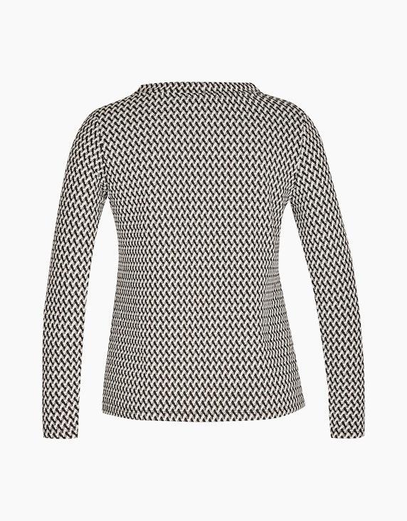 CHOiCE Jacquard Shirt mit Zick-Zack-Muster | ADLER Mode Onlineshop