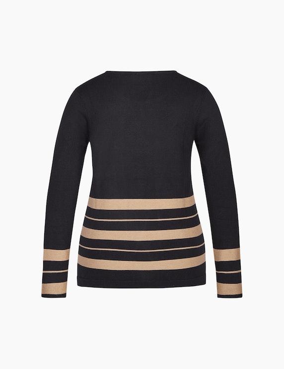 Bexleys woman Pullover mit Streifen in Ottoman-Struktur   ADLER Mode Onlineshop