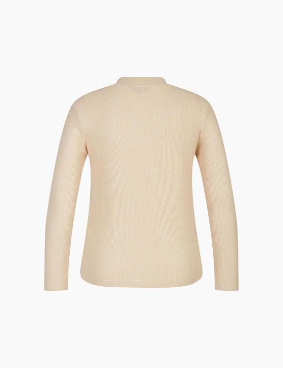 Bexleys woman Basic Pullover mit Rippstruktur   ADLER Mode Onlineshop