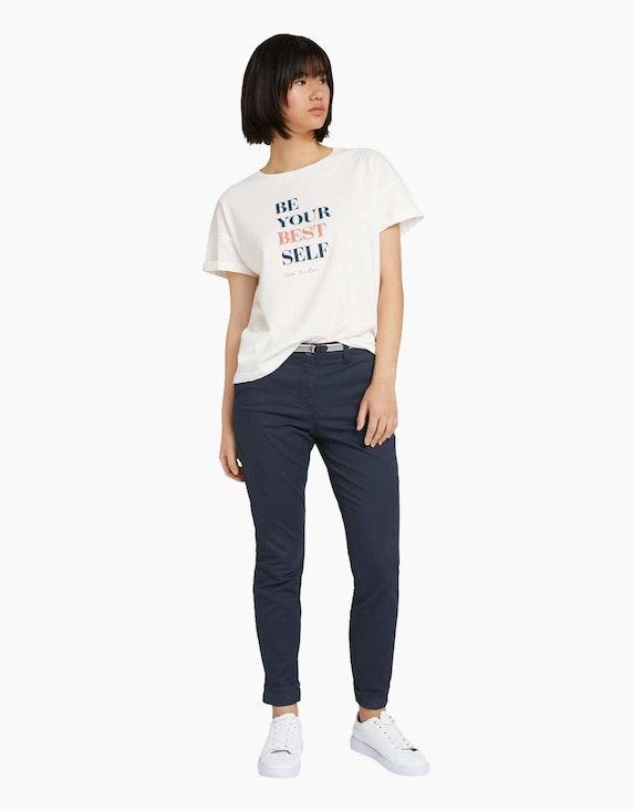 Tom Tailor Shirt mit Statement-Print   ADLER Mode Onlineshop