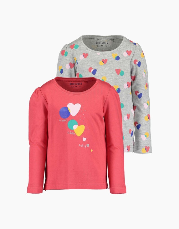 Blue Seven Mini Girls Langarmshirt im 2er-Pack | ADLER Mode Onlineshop