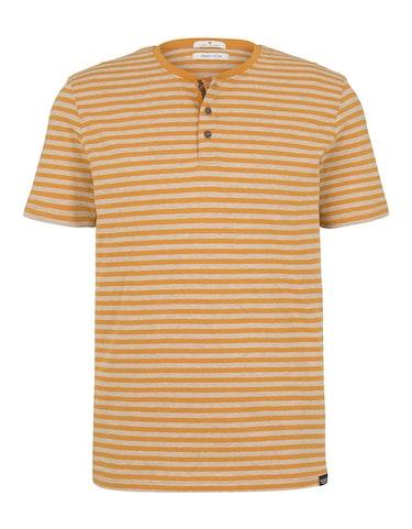 tom tailor - Gestreiftes T-Shirt mit Bio-Baumwolle, 784196