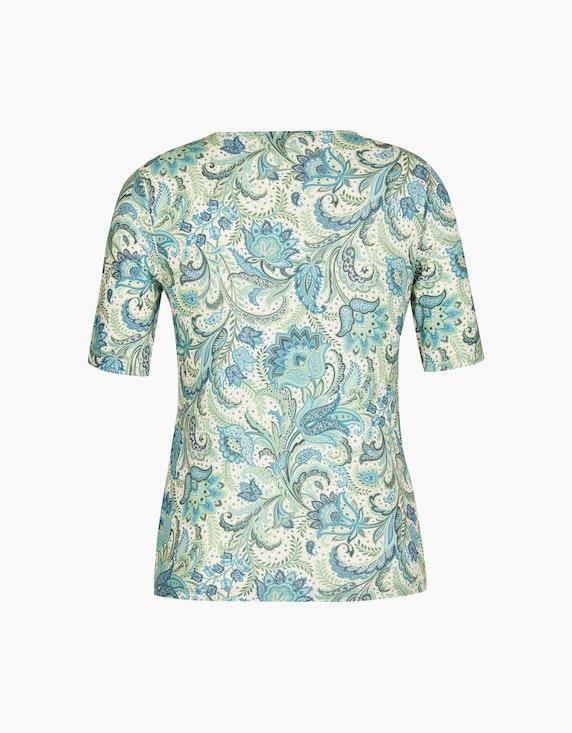 Malva T-Shirt mit längeren Ärmeln und Glitzersteinen | ADLER Mode Onlineshop