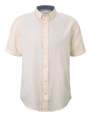 Produktbild zu Strukturiertes Kurzarmhemd von Tom Tailor