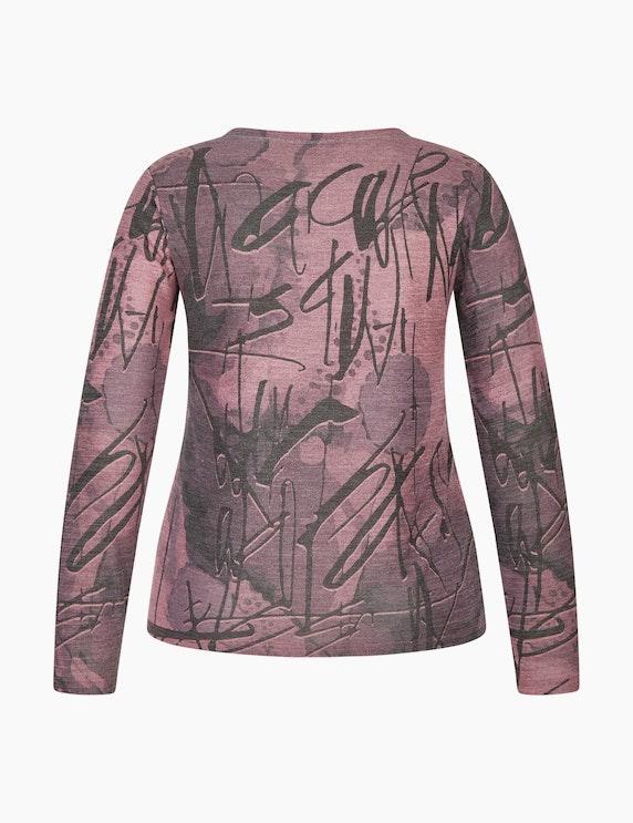Bexleys woman Langarmshirt mit Allover-Print | ADLER Mode Onlineshop