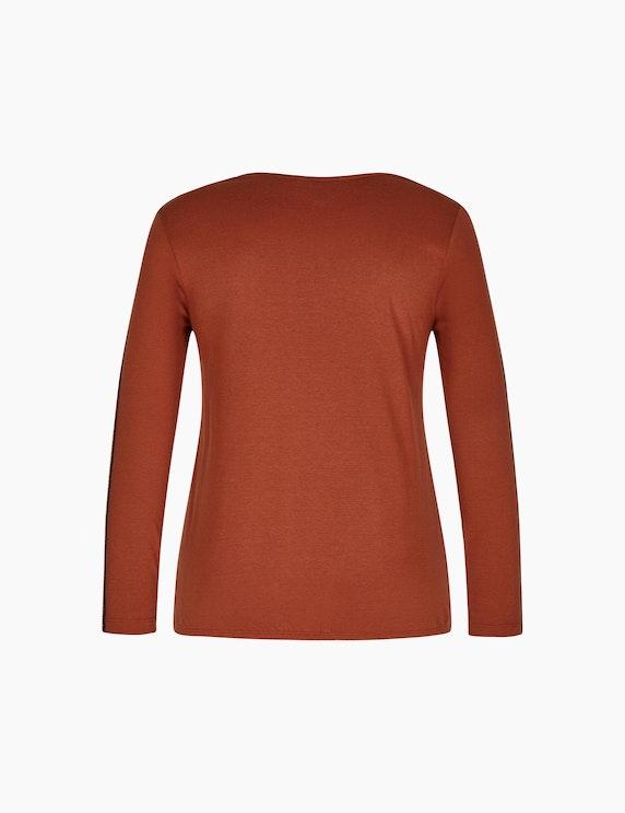 Bexleys woman Langarmshirt mit Wording-Print | ADLER Mode Onlineshop