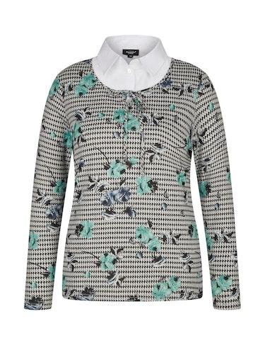 Produktbild zu Shirt mit Bluseneinsatz von Bexleys woman