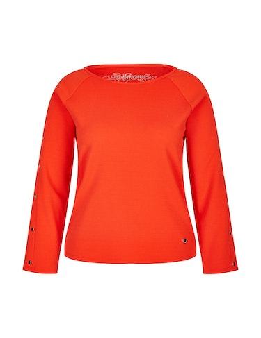 Produktbild zu Struktur-Jersey-Pullover von Steilmann Woman