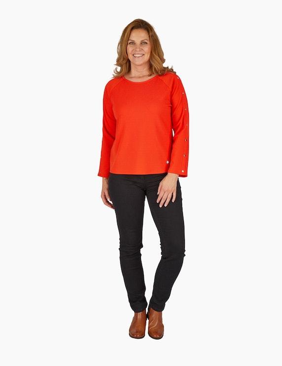 Steilmann Woman Struktur-Jersey-Pullover | ADLER Mode Onlineshop