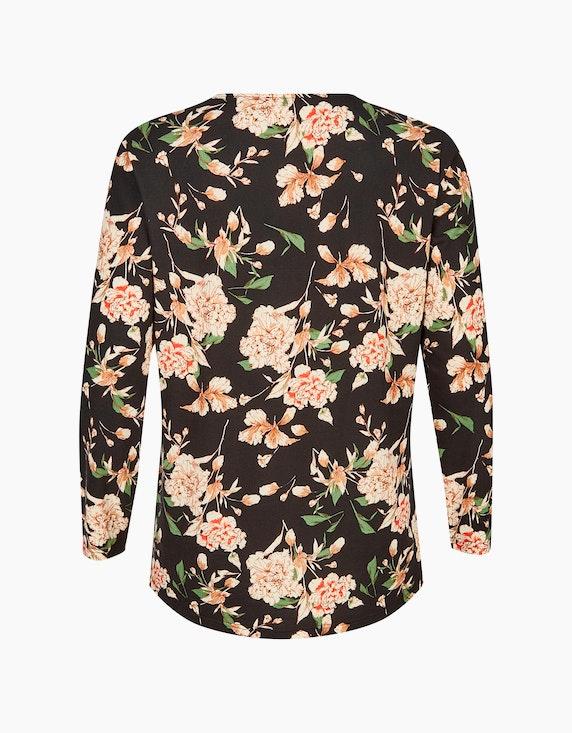Thea Langarmshirt mit Blumenprint | ADLER Mode Onlineshop