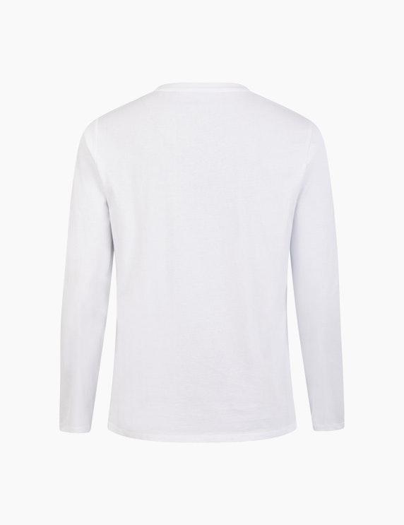 Thea Langarmshirt mit Pailletten und Frontprint | ADLER Mode Onlineshop