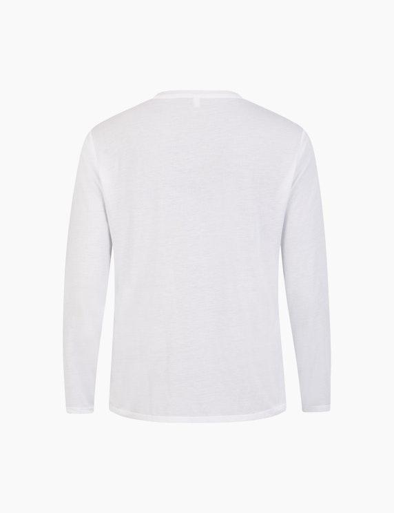 Thea Basic-Shirt mit Frontdruck und Pailletten | ADLER Mode Onlineshop