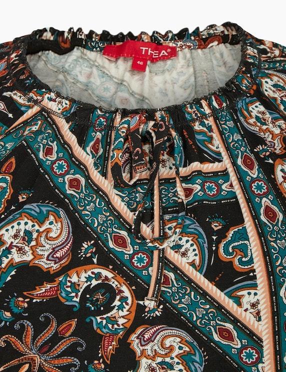 Thea Langarmshirt mit Paisleymuster | ADLER Mode Onlineshop